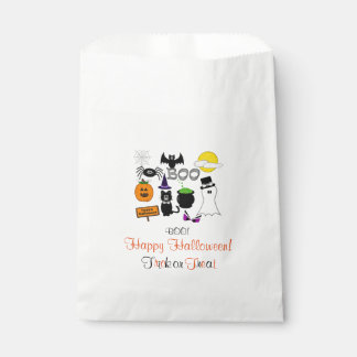 Halloween | Party Treats, Favors Bags Favour Bags