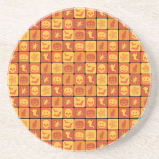 Halloween Pattern 2 Drink Coasters