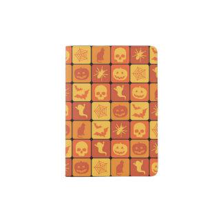 Halloween Pattern 2 Passport Holder