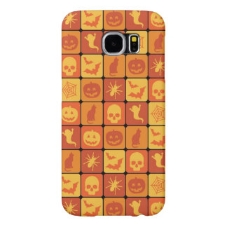 Halloween Pattern 2 Samsung Galaxy S6 Cases