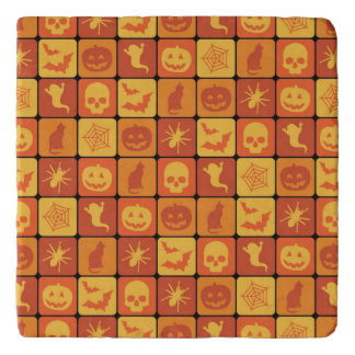 Halloween Pattern 2 Trivet