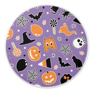 Halloween Pattern 3 Ceramic Knob