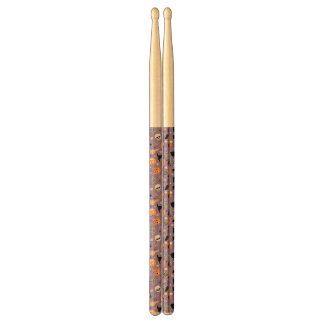 Halloween Pattern 3 Drumsticks