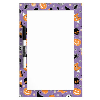 Halloween Pattern 3 Dry-Erase Whiteboard