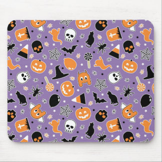 Halloween Pattern 3 Mouse Mat