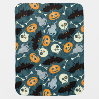 Halloween pattern baby blanket
