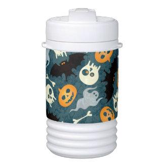 Halloween pattern cooler