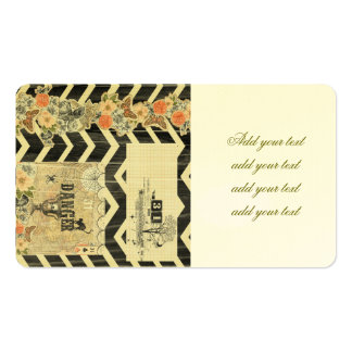 Halloween,pattern,vintage,rustic,old,victorian,col Pack Of Standard Business Cards