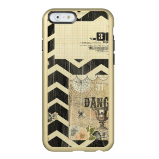 Halloween,pattern,vintage,rustic,old,victorian,col Incipio Feather® Shine iPhone 6 Case