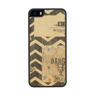 Halloween,pattern,vintage,rustic,old,victorian,col iPhone 6 Plus Case