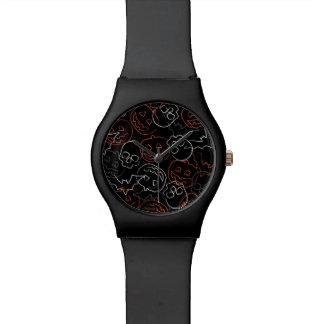 Halloween Pattern Watch