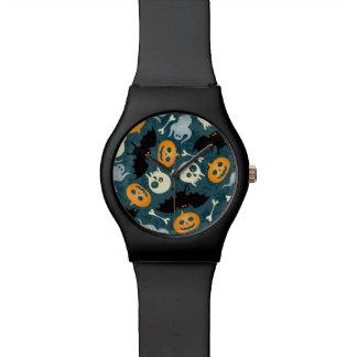 Halloween pattern watches