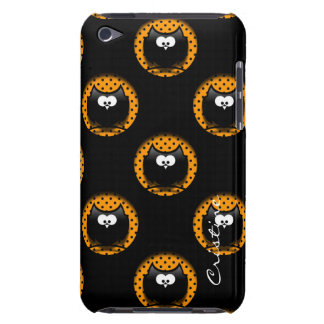 halloween pattern with owls  in hollows barely there iPod cases