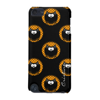 halloween pattern with owls  in hollows iPod touch (5th generation) cover