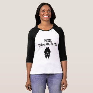 Halloween PCOS Drives Me Batty T-Shirt