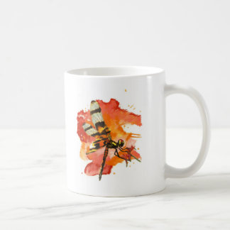 Halloween Pennant Dragonfly Basic White Mug