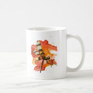 Halloween Pennant Dragonfly Basic White Mug