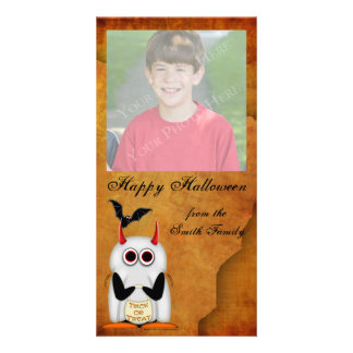 Halloween Photo Cards from Evil Penguin