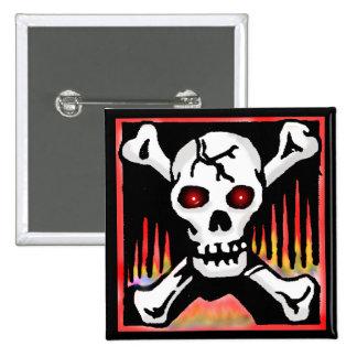 Halloween Pirate Buttons
