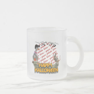 Halloween Pirate Duck & Devil Duck Photo Frame Coffee Mugs