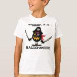 Halloween Pirate Pumpkin T-shirts