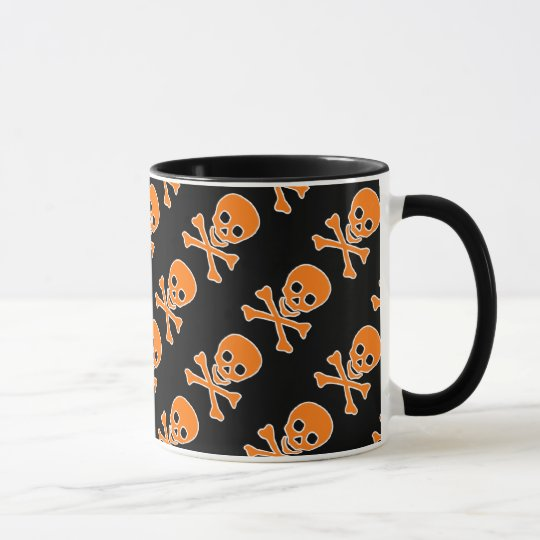 Halloween Pirate Skulls Mug