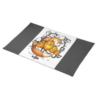 Halloween place mat