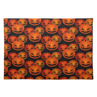 Halloween Placemat-Scary Pumpkins Placemat