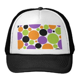 Halloween Polka Dots Mesh Hat