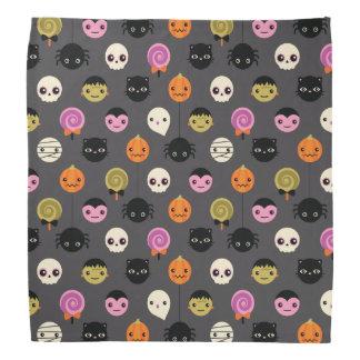 Halloween Polka Dots Pattern Bandana
