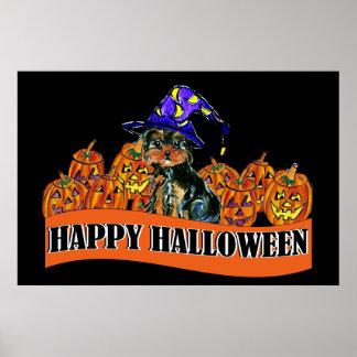Halloween Poo Poster