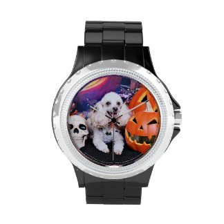Halloween - Poodle - Dolly Wristwatch