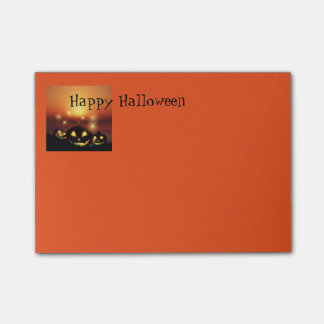 Halloween Post It Notes