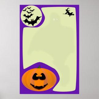 Halloween Poster.