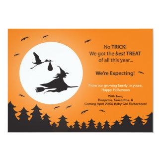 Halloween Pregnancy Announcement
