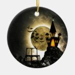 Halloween Products Round Ceramic Decoration