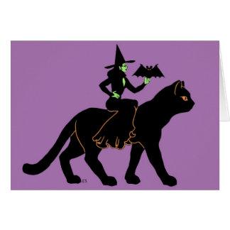 Halloween Promenade Card