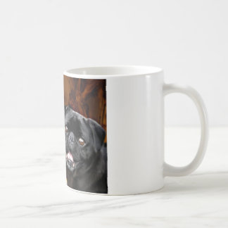 Halloween Pug Dog Basic White Mug