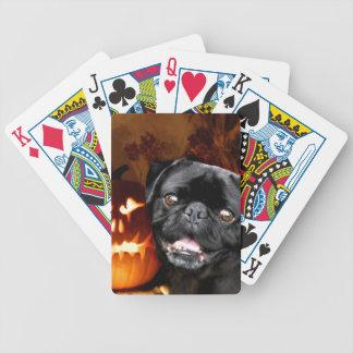 Halloween Pug Dog Card Deck