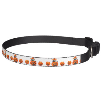 Halloween pug dog dog collar