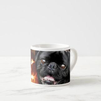 Halloween Pug Dog Espresso Mug
