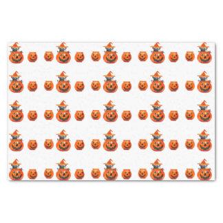 """Halloween pug dog tissue paper 10"""" x 15"""" tissue paper"""