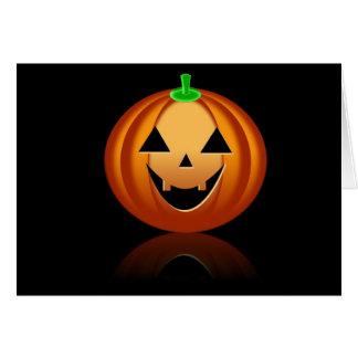 Halloween Pumkin BB Greeting Card