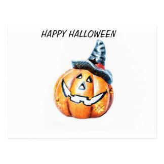 Halloween Pumkin Postcard