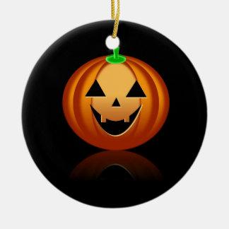 Halloween Pumkin Round Ceramic Decoration