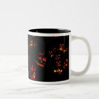 halloween pumkins mugs