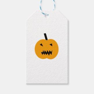Halloween Pumpkin Gift Tags