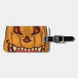halloween pumpkin-1640482 luggage tag