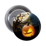 Halloween Pumpkin 6 Cm Round Badge