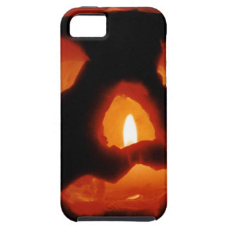 Halloween pumpkin and candle iPhone 5 cases